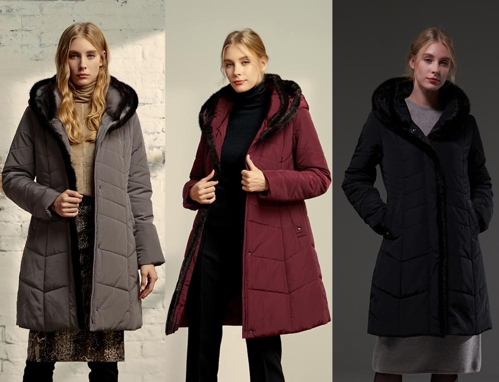 PREGO - Reversable Padding Mink Fur Coat