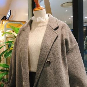 Double manteau matelassé Overfit
