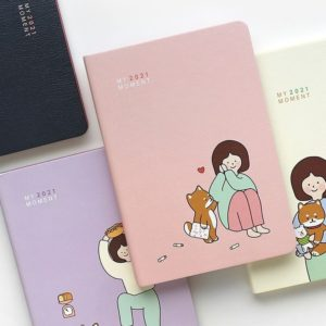 [Pinkfoot] 2021 My Moment Diary(4color)