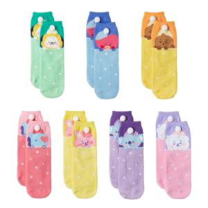 bt21 sleep socks bts goods