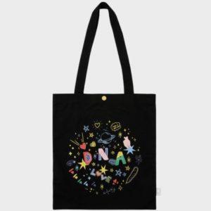 [K-Pop] BTS DNA Black Eco Bag