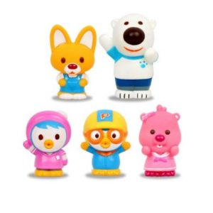 Pororo Bath toys Set