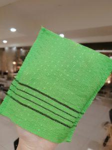 Korea style towel